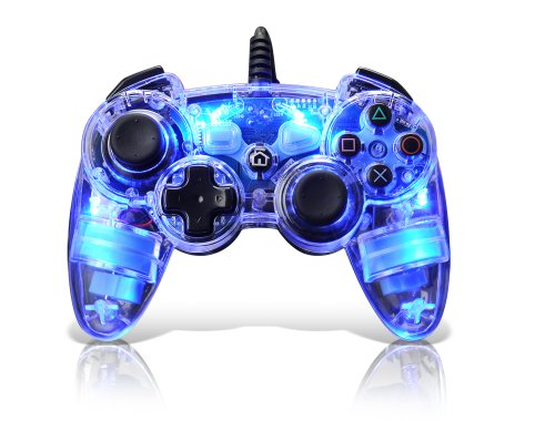 Afterglow AP.1 Controller for PS3 - Blue: Playstation 3