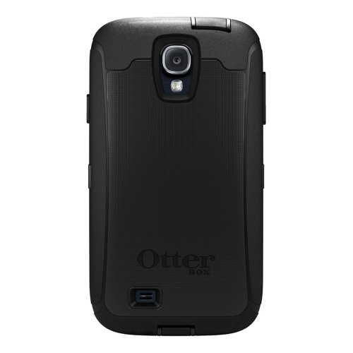 OtterBox Defender Series and Holster Case for Samsung Galaxy S4 - 1 Pack - Retail Packaging - Black