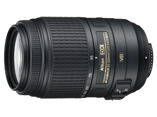 Nikon 55-300mm f/4.5-5.6G ED VR AF-S DX Nikkor Zoom Lens for Nikon Digital SLR: NIKON