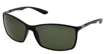 Ray Ban RB4179 Tech Sunglasses-601S/9A Black (Polar Green Lens)-62mm: Ray-Ban