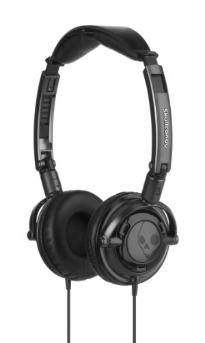 Skullcandy Lowrider Headphones with In-Line Mic S5LWCY-033 (Black)