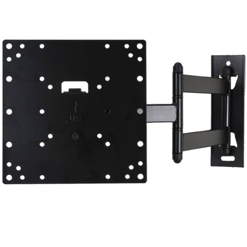 "Amazon.com : VideoSecu LED LCD TV Wall Mount Full Motion with Swivel Articulating Arm for most 23 to 37"", Some up to 42"" TVs Monitor Flat Panel Screen up to 66 LBS with VESA 200/100, 20 in Extension and Post-installation Leveling System ML531B AB4 : Television Mounts"