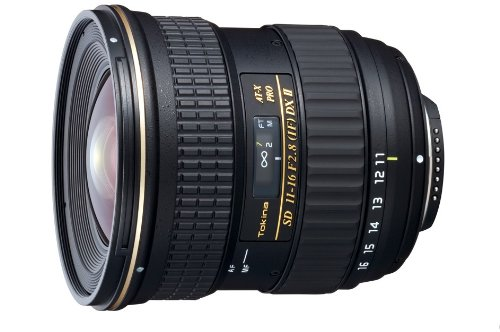 Tokina 11-16mm f/2.8 AT-X116 Pro DX II Digital Zoom Lens (for Canon EOS Cameras): TOKINA