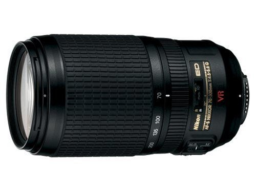 Nikon 70-300mm f/4.5-5.6G ED IF AF-S VR Nikkor Zoom Lens for Nikon Digital SLR Cameras: NIKON