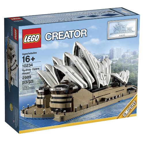 Amazon.com : LEGO Creator Expert 10234 Sydney Opera House : Toy Interlocking Building Sets