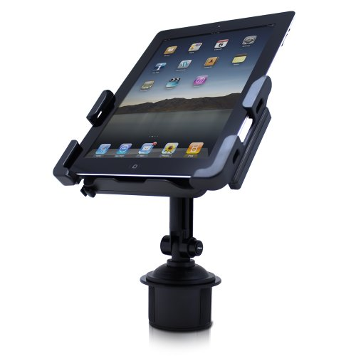 Satechi SCH-121 Cup Holder Mount for Smartphones & Tablets: iPad, iPad Mini/Air, Asus Eee Pad Transformer, Motorola Xoom, Samsung Galaxy Tab, Galaxy 10.1, Viewsonic Gtablet, Blackberry Playbook, HTC Flyer, iPhone, BlackBerry, Galaxy S4, S3, S2