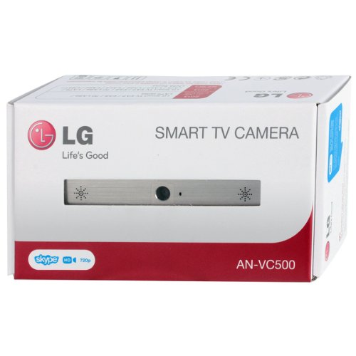 New LG AN-VC500 Camera- Follow up ANVC400 (112mm x 56mm x 38mm, silver black)