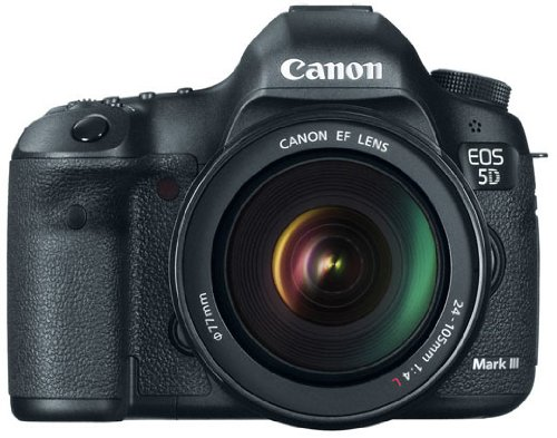 Amazon.com : Canon EOS 5D Mark III 22.3 MP Full Frame CMOS with 1080p Full-HD Video Mode Digital SLR Camera (Body)