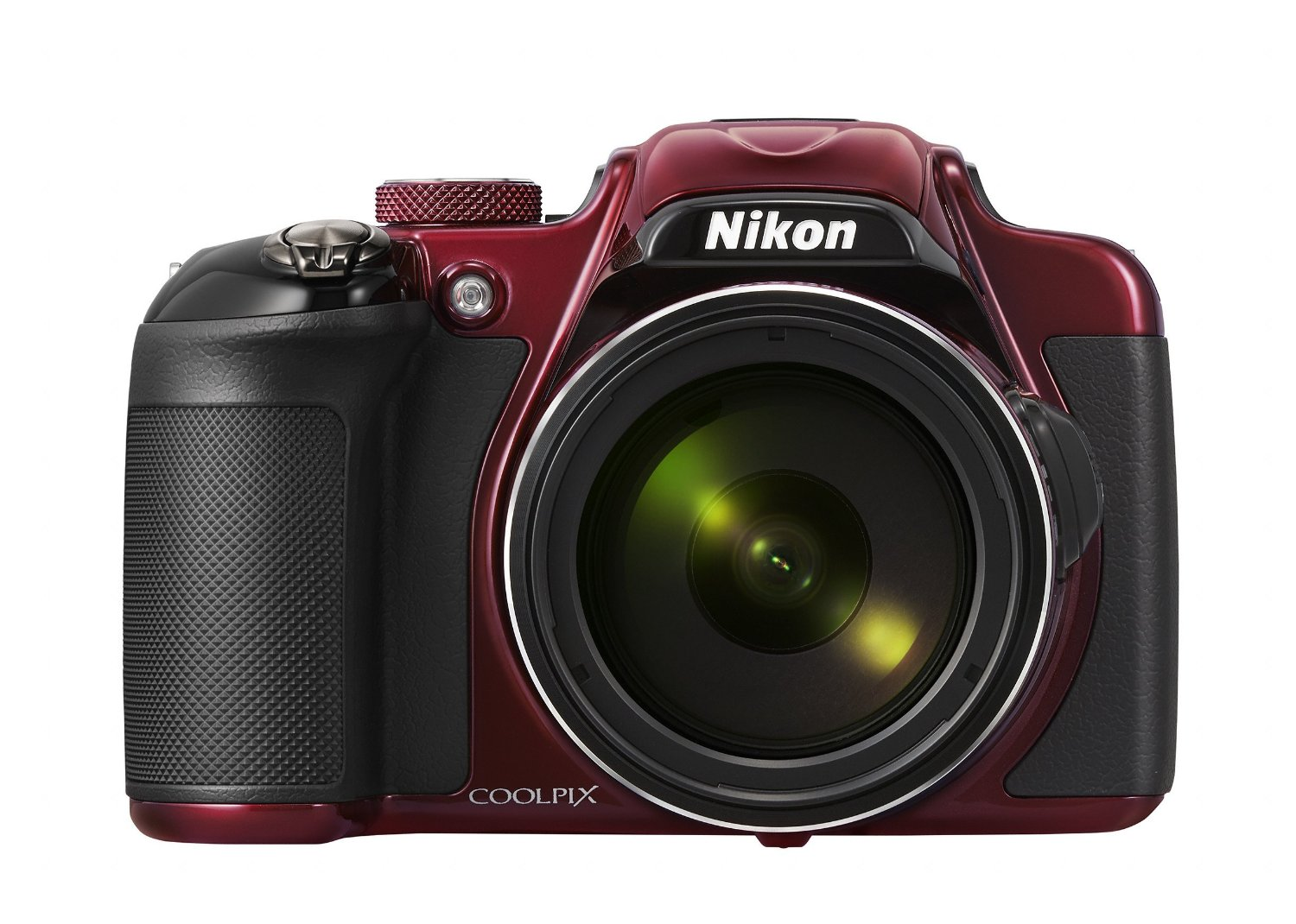 Amazon.com : Nikon COOLPIX P600 16.1 MP Wi-Fi CMOS Digital Camera with 60x Zoom NIKKOR Lens and Full HD 1080p Video (Red)