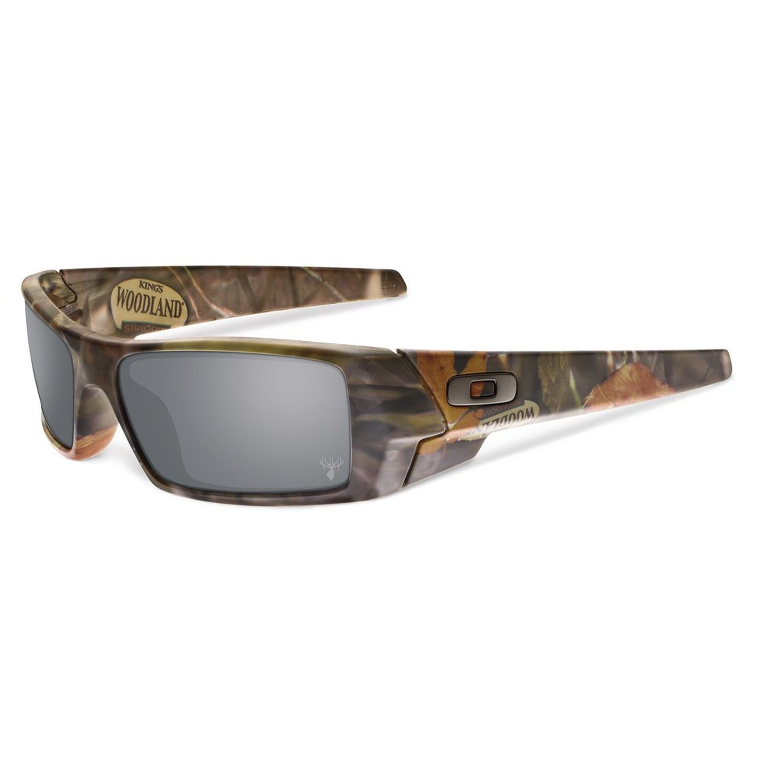 Oakley King's Camo Gascan Woodland Camo/Black Iridium Lens Sunglasses