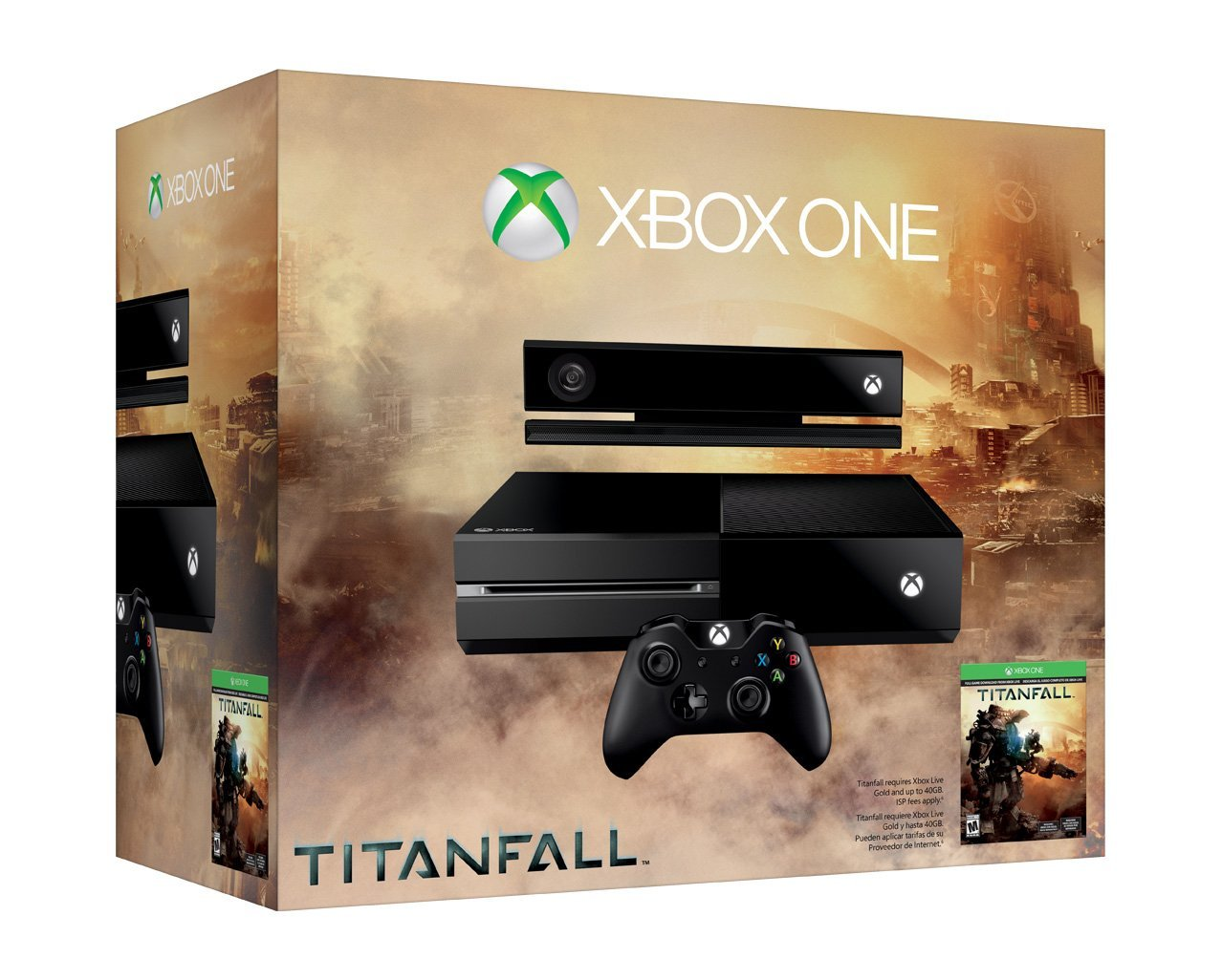 Xbox One Console - Titanfall Bundle + Kinect