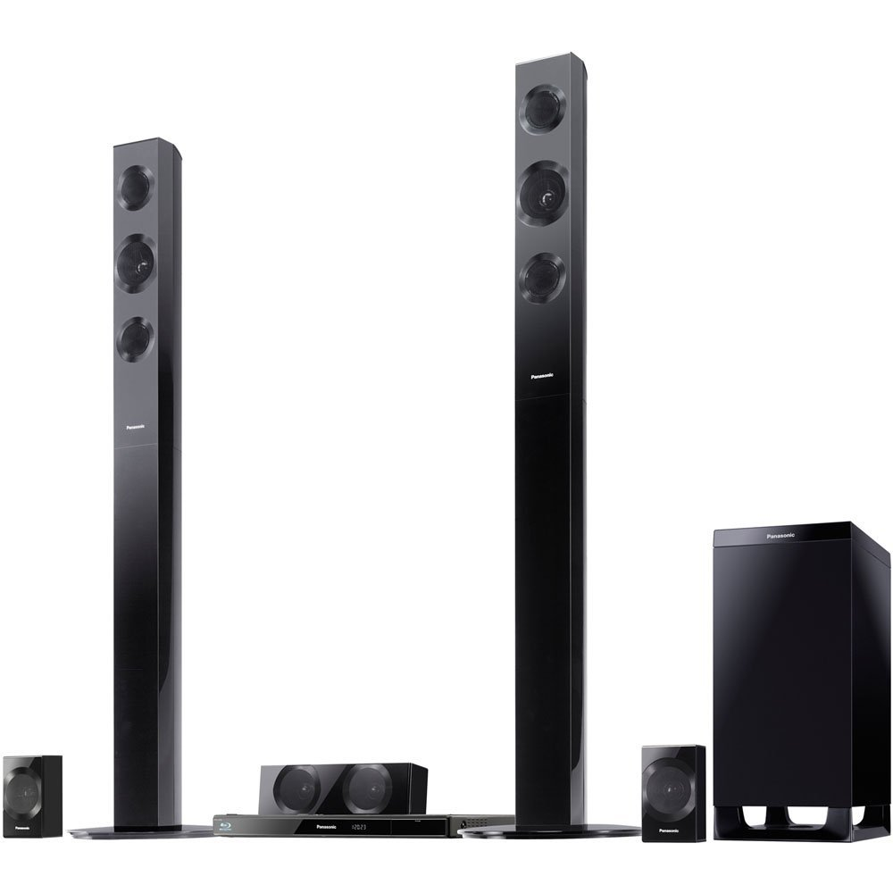 Panasonic SC-BTT490 Energy Star 5.1-Channel 1000-Watt Full HD 3D Blu-Ray Home Theater System with Built-in Wi-Fi (2012 Model)