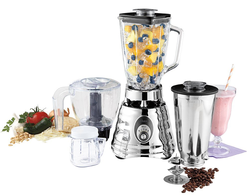 Oster BLSTBC4129 Kitchen Center Beehive blender, Silver: Electric Countertop Blenders