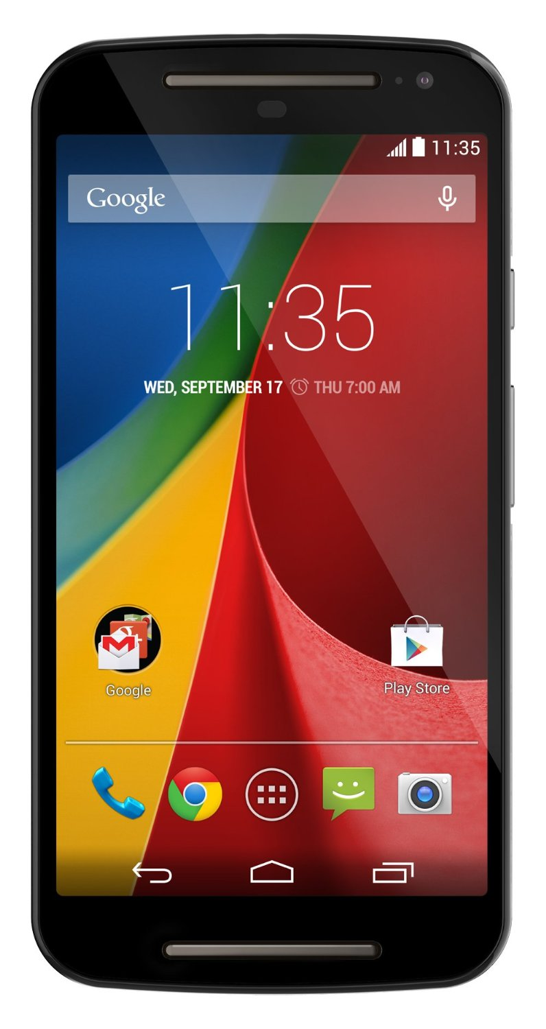 Motorola Moto G (2nd generation) - Global GSM - Unlocked - 8GB Black