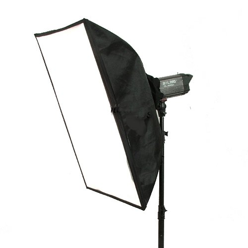 Amazon.com : CowboyStudio 20 x 28in Photo Softbox for Strobe with Carry Case : Photographic Lighting Soft Boxes