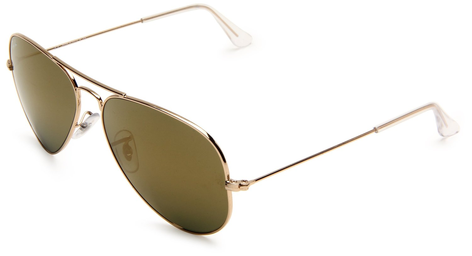 Ray-Ban 0RB3025 Aviator Sunglasses,Gold Frame/Gold Mirror Lens,One Size: Ray-Ban