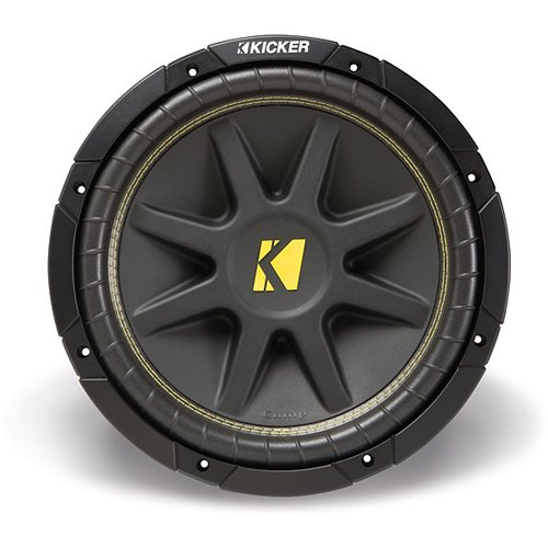Amazon.com : Kicker 10C104 Comp 10-Inch Subwoofer 4 Ohm (Black) : Vehicle Subwoofers
