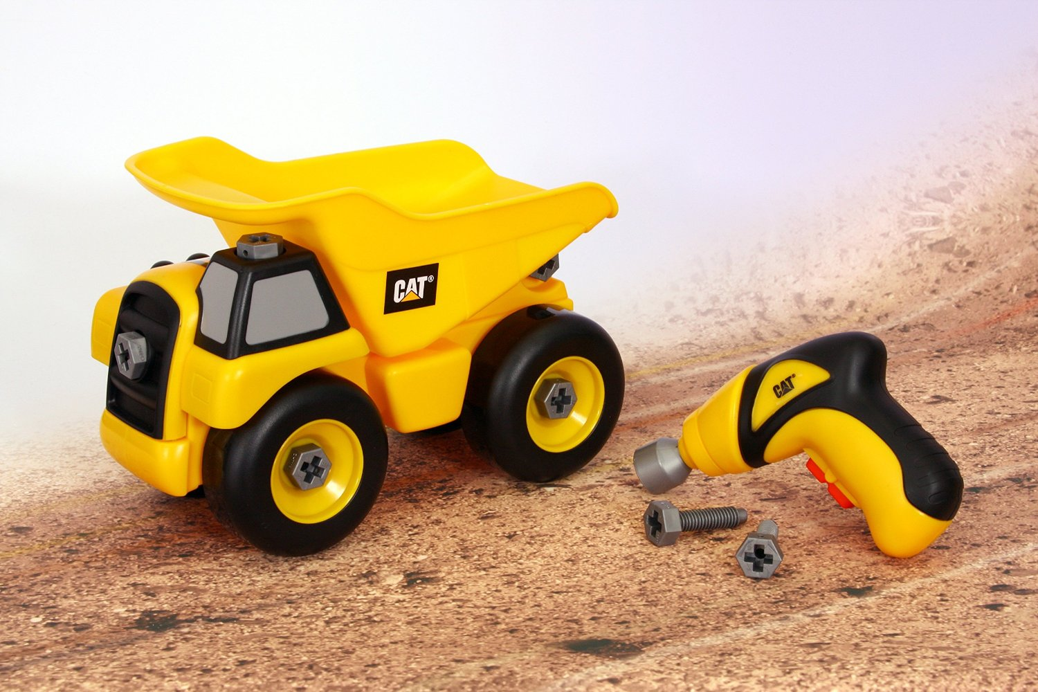 Toy State Caterpillar Construction Take-A-Part Trucks: Dump Truck