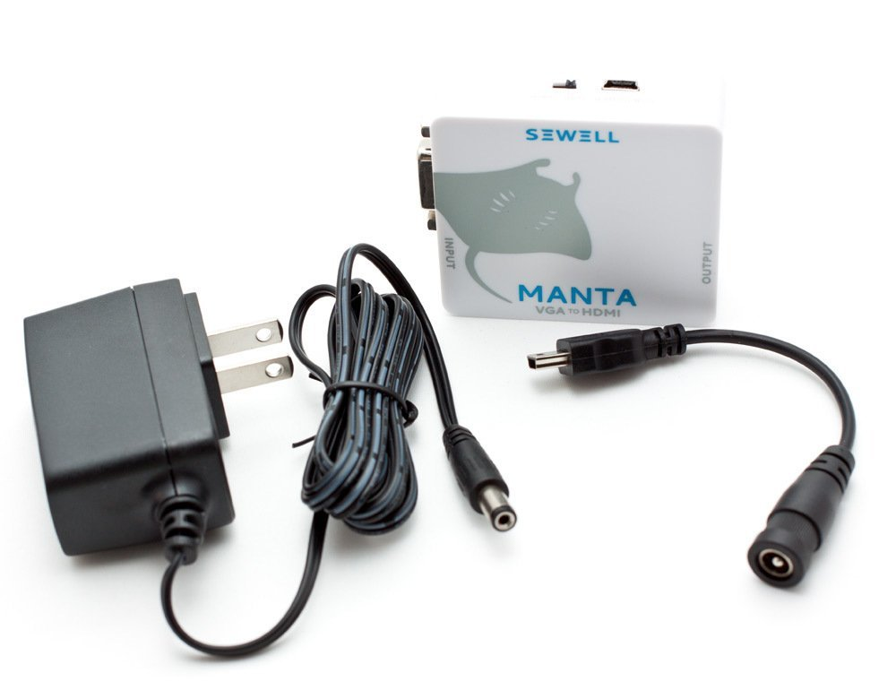 Sewell Direct SW-30008 Manta VGA to HDMI with 1080p Scaler