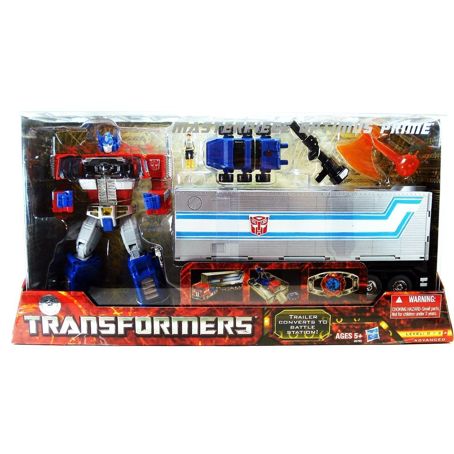 Hasbro Transformers Exclusive Optimus Prime MP-10 Masterpiece Convoy 2.0 2012