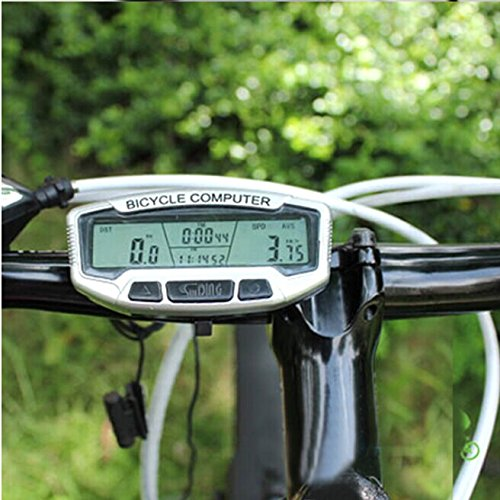 Amazon.com : Brainydeal 28-Function Bike Computer Two-line Four Windows LCD Displays : Bike Odometer