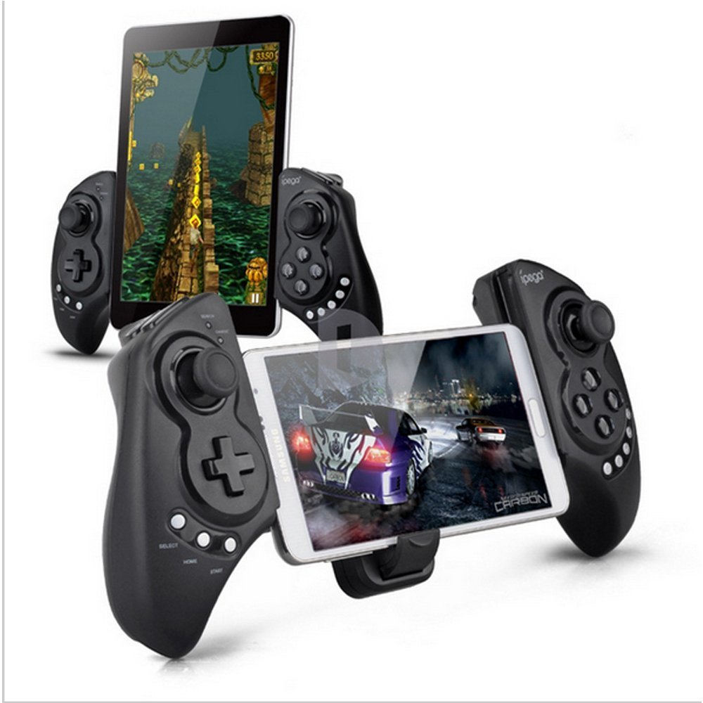"New Dream iPEGA Newest Game Controller Portable Bluetooth Wireless Gamepad Joystick Control for Android Samsung Galaxy Note 3 S5 HTC Sony Xperia LG and iOS iPhone 6 5S 5C 5 iPad 5 4 iPod, Supports Up to 10"" Smartphone or TabletTablet PC"