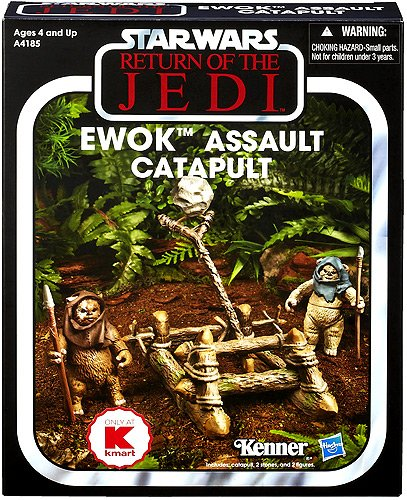 Star Wars Ewok Assault Catapult Kmart Exclusive The Vintage Collection 2013