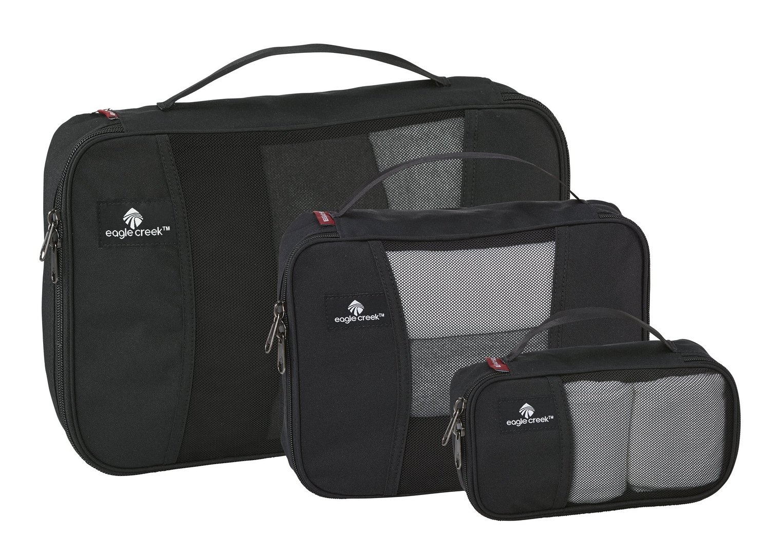 Eagle Creek Travel Gear Pack-It Cube Set, Black, One Size