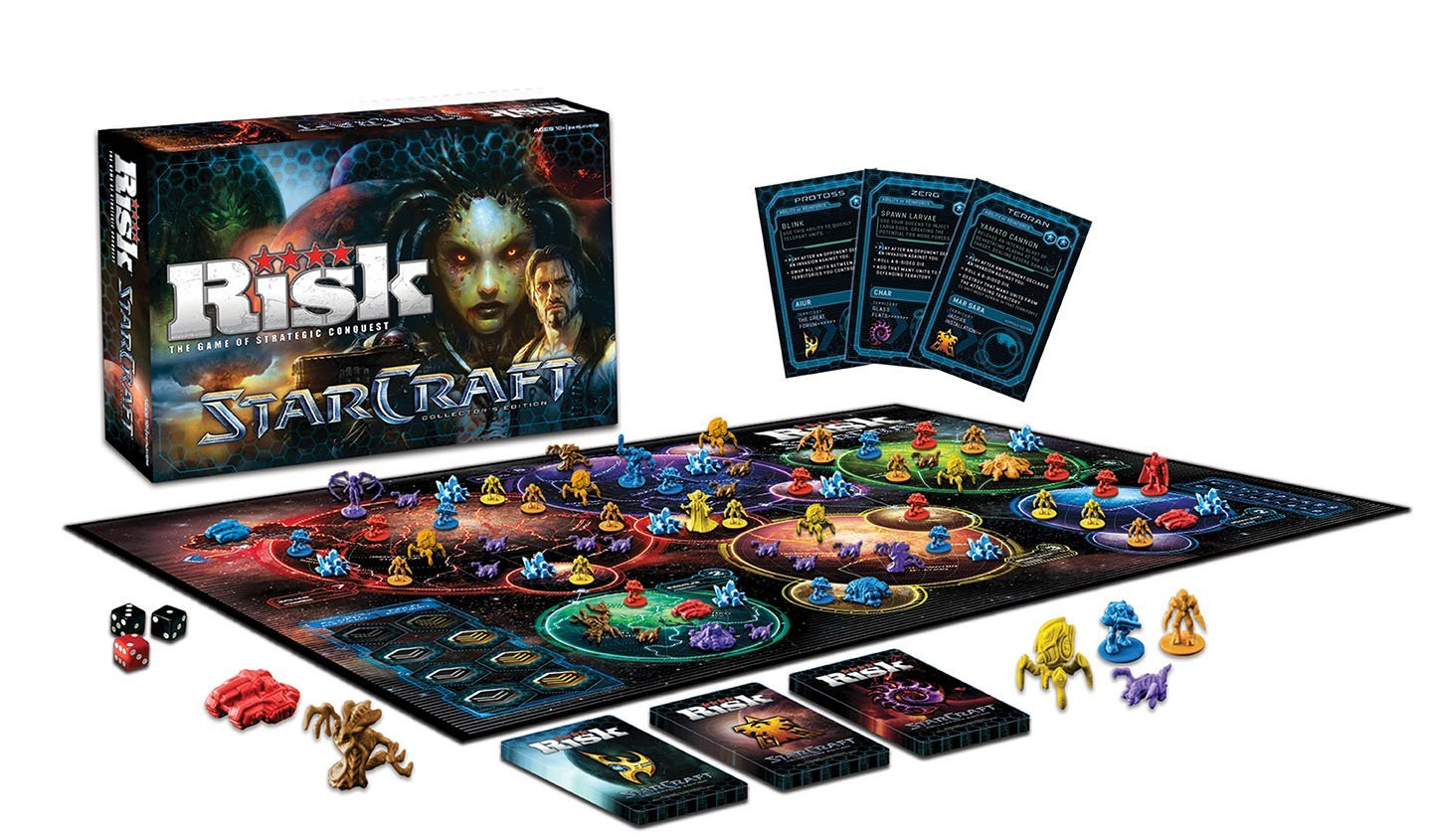 RISK: StarCraft Collector's Edition: Game