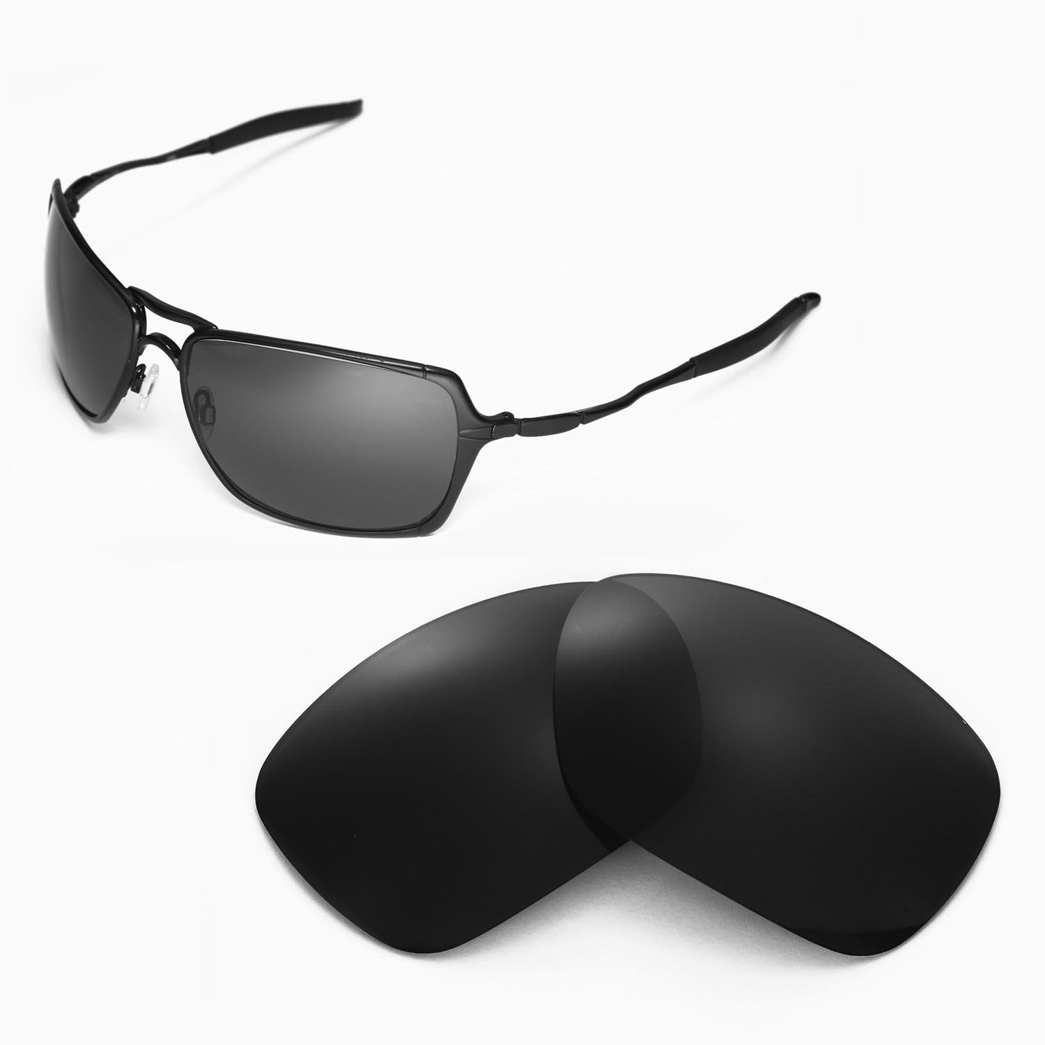 51ec2a3036 Amazon.com   Walleva Replacement Lenses for Oakley Inmate Sunglasses -  Multiple Options Available (