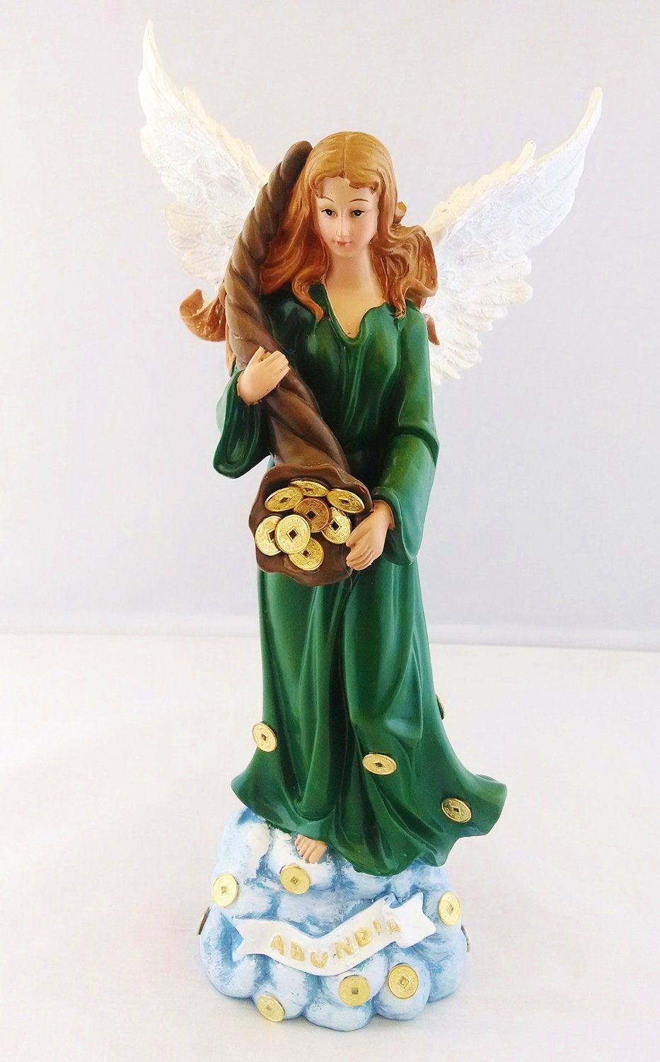 Amazon.com - 12 Inch Angel de la Abundancia Abundance Abundia Statue Figurine Image Figure - Other Products