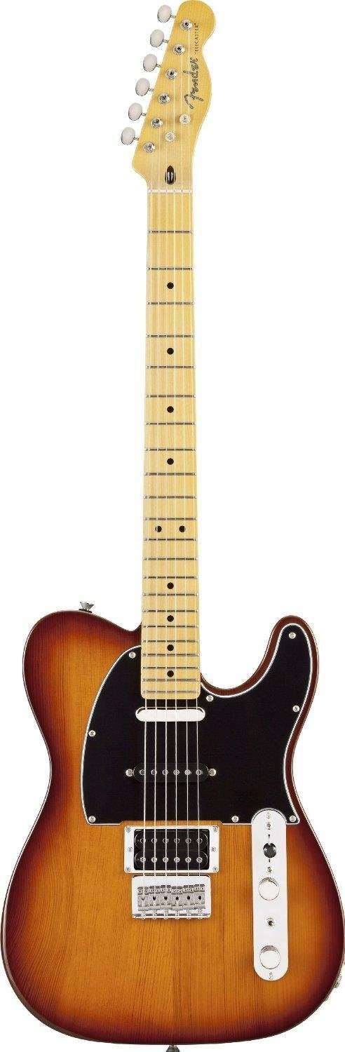 Fender Modern Player Tele® Plus  Electric Guitar, Honey Burst, Maple Fretboard