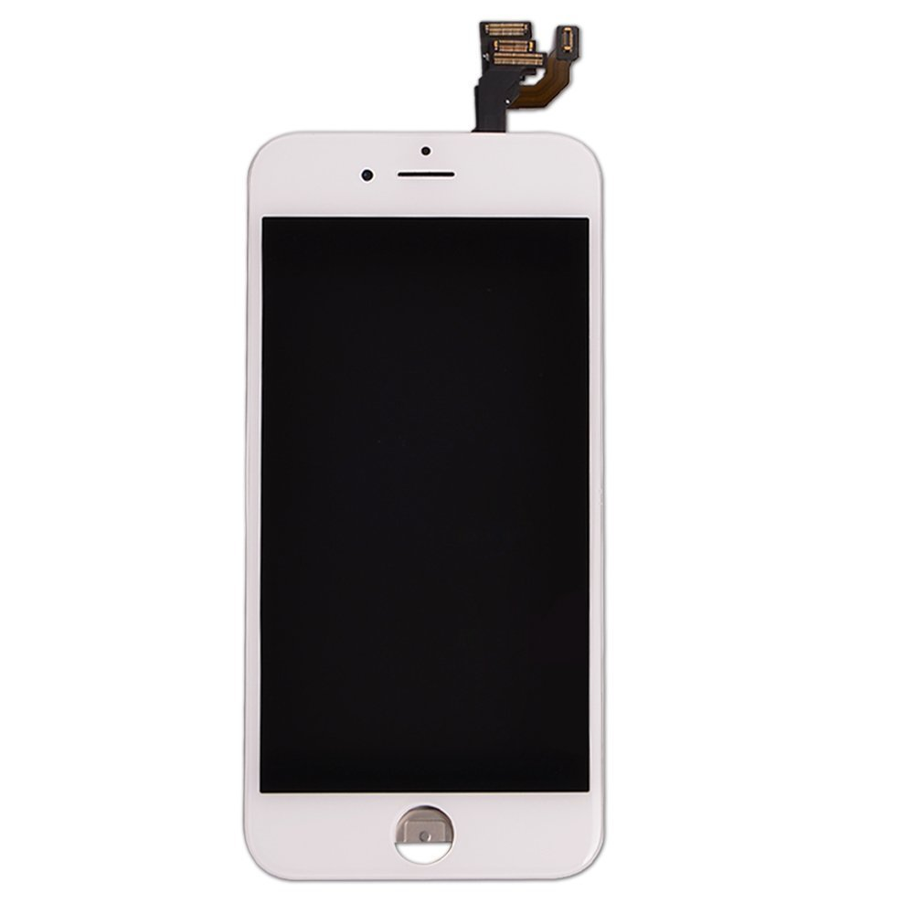 "LCD display Touch Screen Digitizer Assembly for iPhone 6 Plus 5.5"" with free tools (White)"