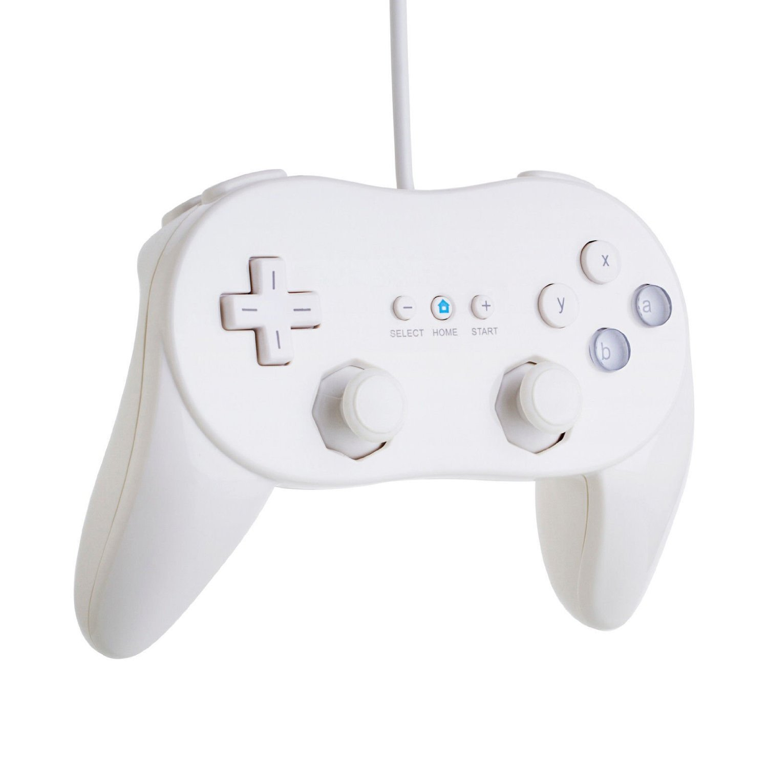 New Classic Pro Controller For Nintendo Wii/WiiU White: Pc