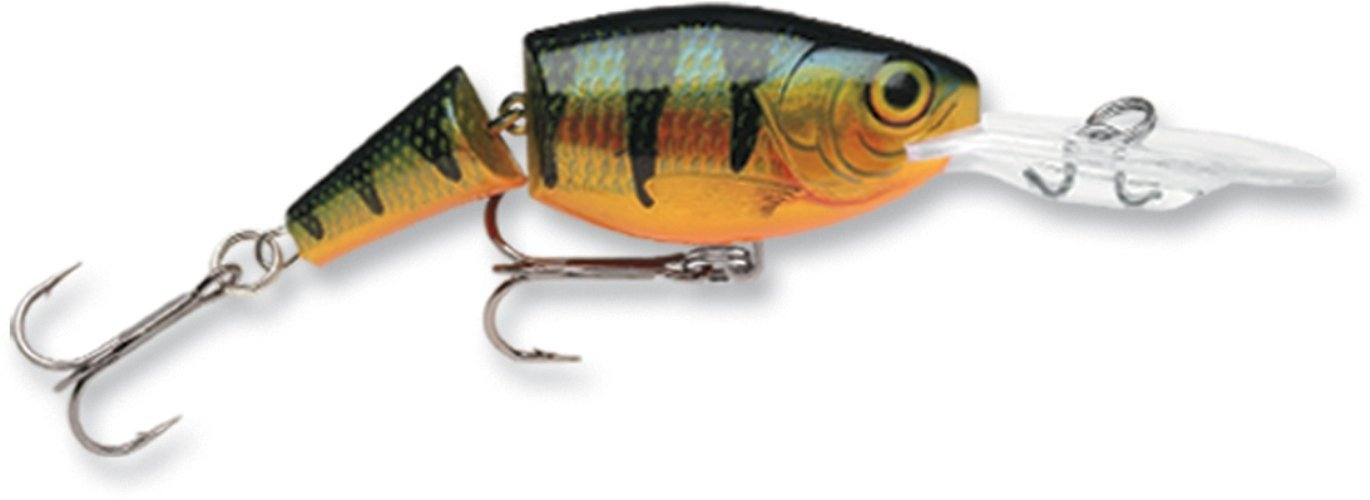 Amazon.com : Rapala Jointed Shad Rap 04 Fishing lure (Perch, Size- 1.5) : Fishing Diving Lures
