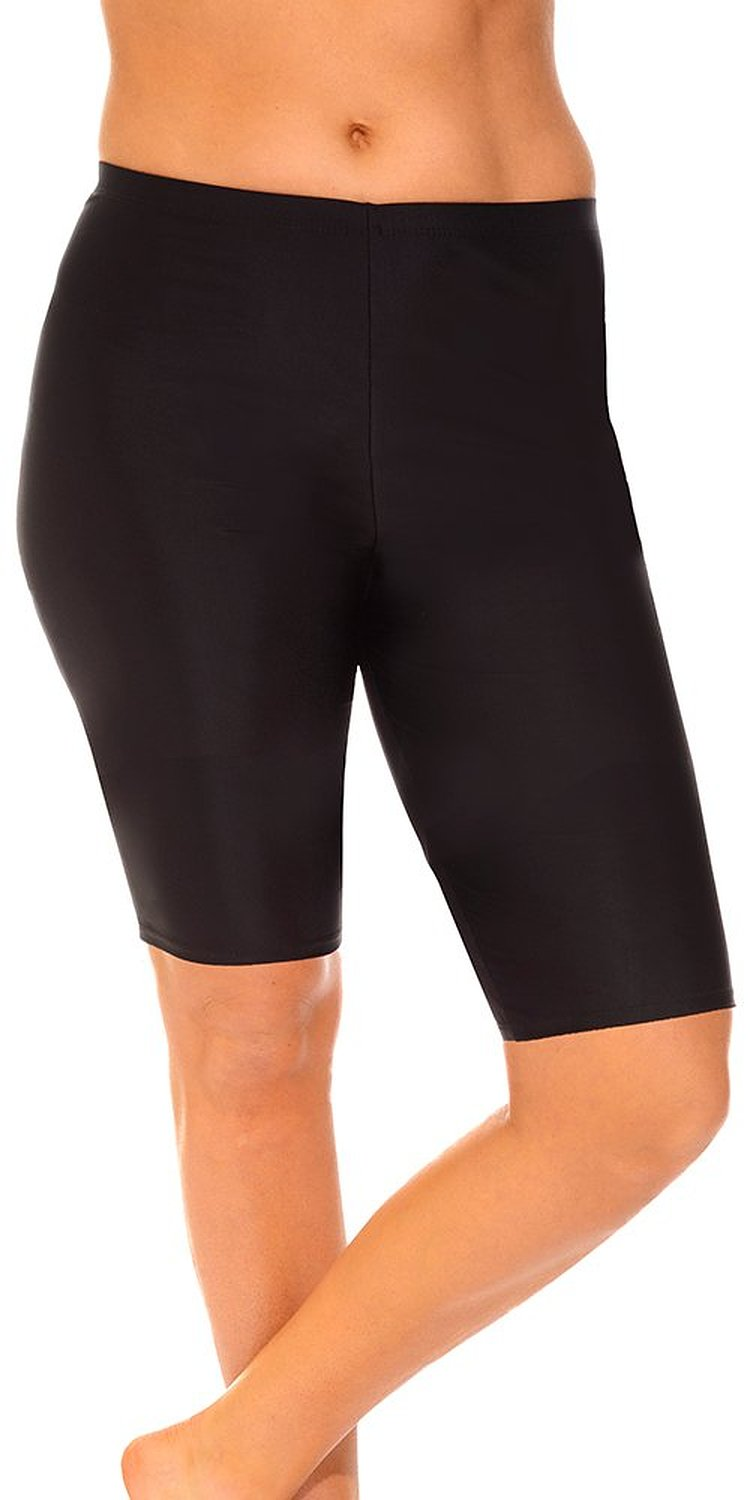 Aquabelle Women's Extended Length Bike Short at Amazon Women's Clothing store