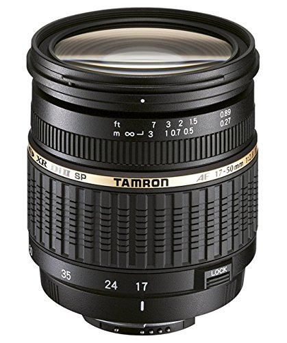 Amazon.com : Tamron SP AF 17-50mm F/2.8 XR Di II LD Aspherical (IF) Lens with hood for Canon (No Warranty)