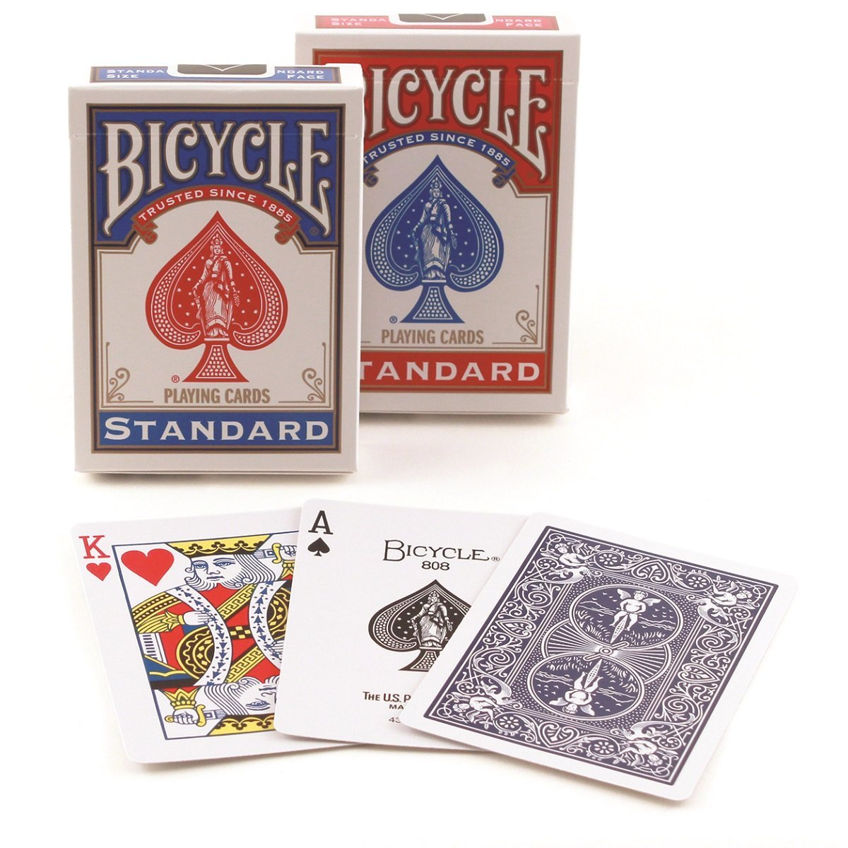 Bicycle Rider Back Poker Playing Cards (Pack of 4)