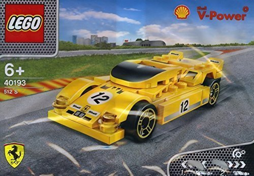 2014 The New Shell V-power Lego Collection Ferrari 512 S 40193 Exclusive Sealed