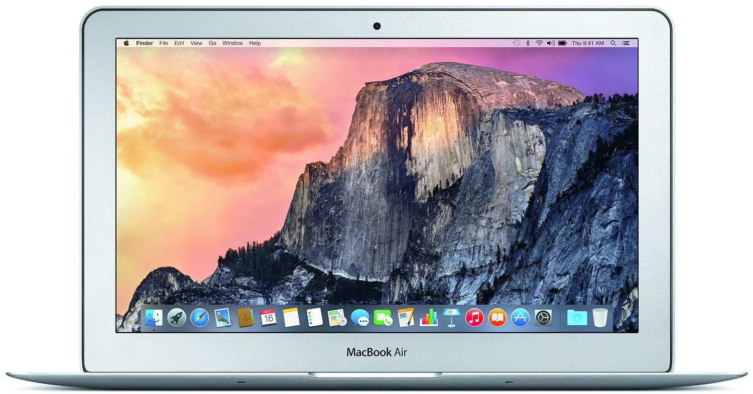 Amazon.com : Apple MacBook Air MJVM2LL/A 11.6-Inch laptop(1.6 GHz Intel i5, 128 GB SSD, Integrated Intel HD Graphics 6000, Mac OS X Yosemite)