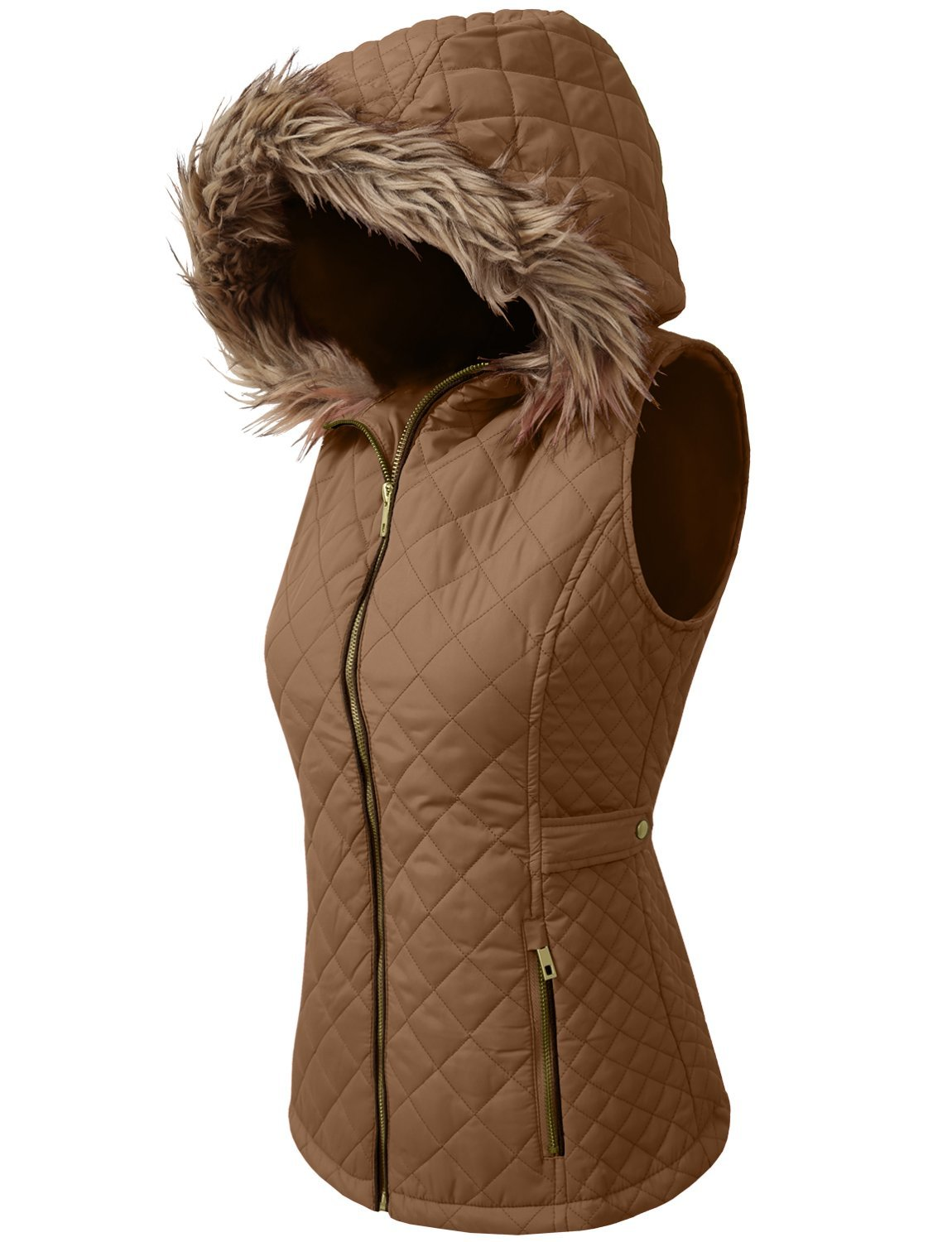 NE PEOPLE Womens Lightweight Quilted Zip Jacket/Vest at Amazon Women's Coats Shop