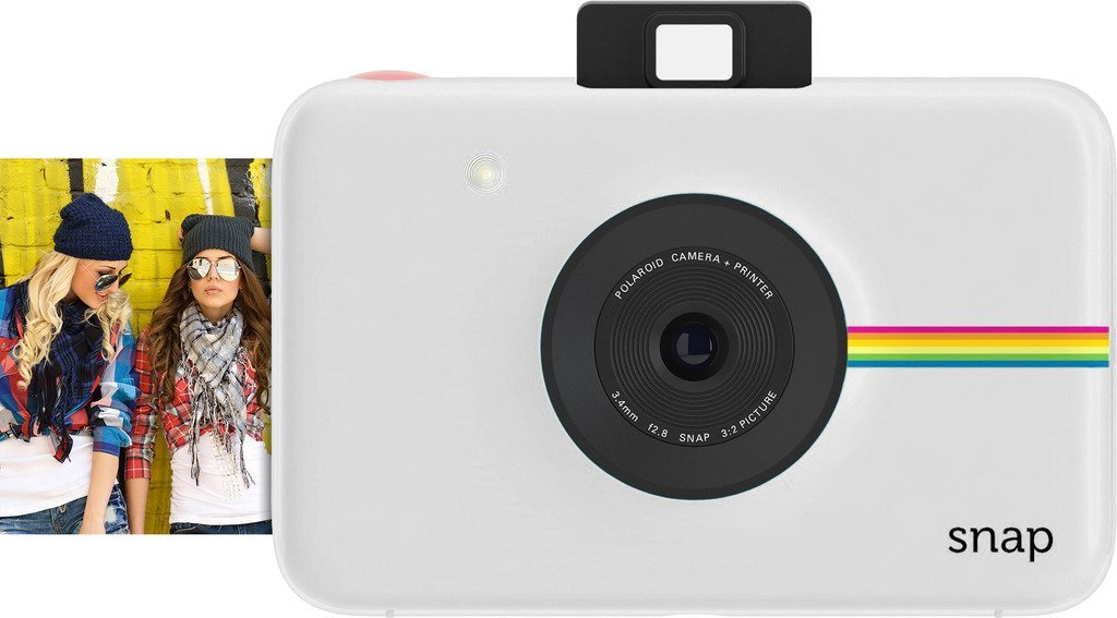Amazon.com : Polaroid Snap Instant Digital Camera (White) with ZINK Zero Ink Printing Technology
