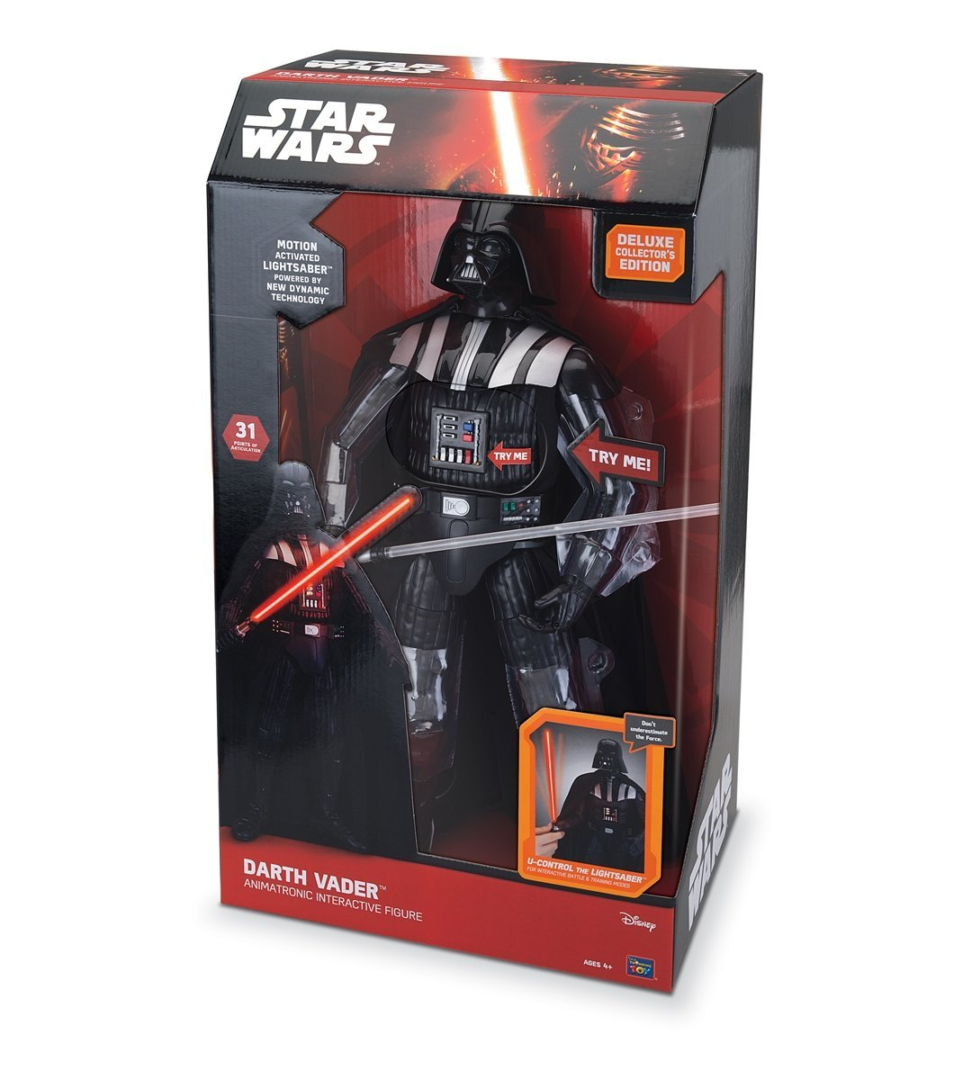 Star Wars: Episode VII The Force Awakens - Darth VaderTM Animatronic Interactive Figure