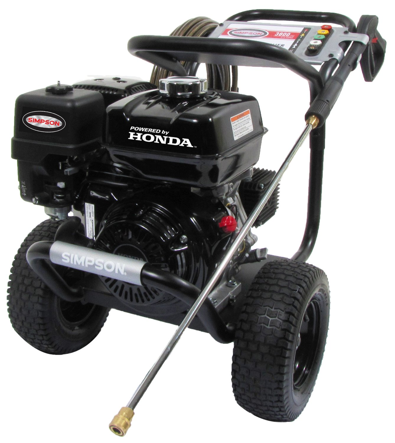 Amazon.com : Simpson PS3835 3800 PSI 3.5 GPM Honda GX270 Engine Gas Pressure Washer