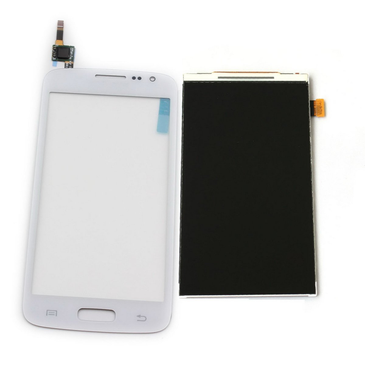 Cell Phones Parts From USA New Black Full Assembly Cobom LCD Display Touch Screen Digitizer Complete for Samsung Galaxy Avant SM-G386 G386TR Metro PCS G386T T-mobile G386T1 Core G386F G386W (White)