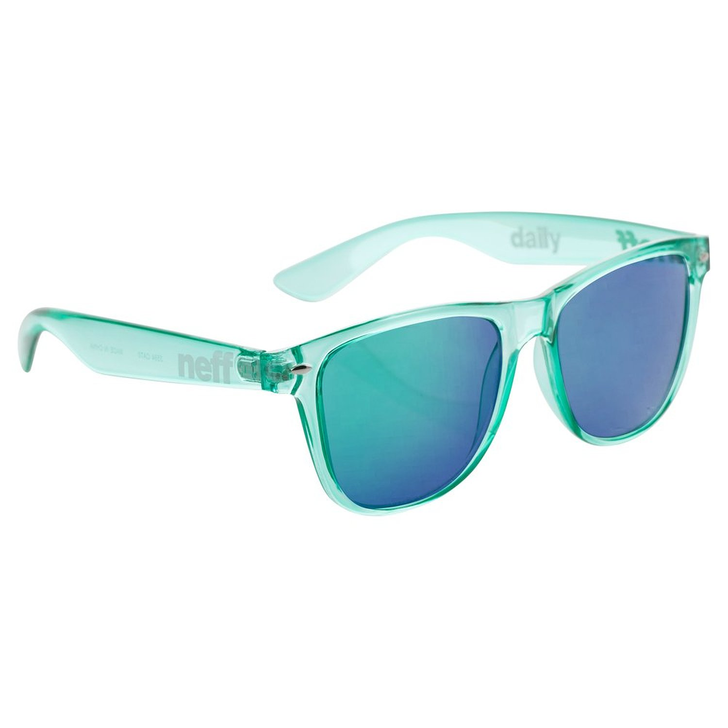 Neff Mens Daily Ice Sunglasses, Teal, One Size Fits All