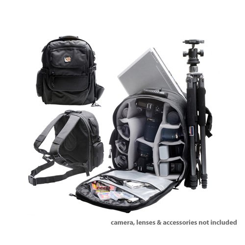 Amazon.com : Aktiv Pak AP400 Professional All Weather Multi-Purpose Camera & Photo/ Computer Laptop Backpack for Canon EOS 6D, 70D, 7D, 5DS, 5D Mark II III, Rebel T3, T3i, T5, T5i, T6i, T6s, SL1 : Camera Cases
