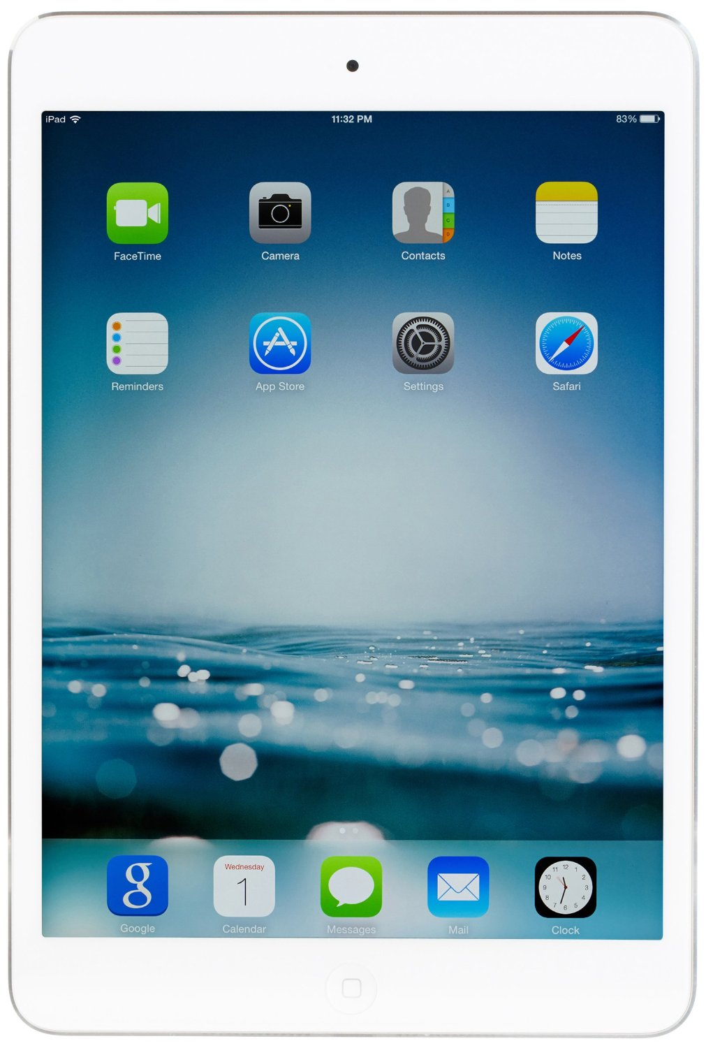 Apple iPad mini 2 with Retina Display 2048 x 1536 16GB, Wi-Fi, 1.3 GHz, 1 GB DDR2, 5 MP (Silver)