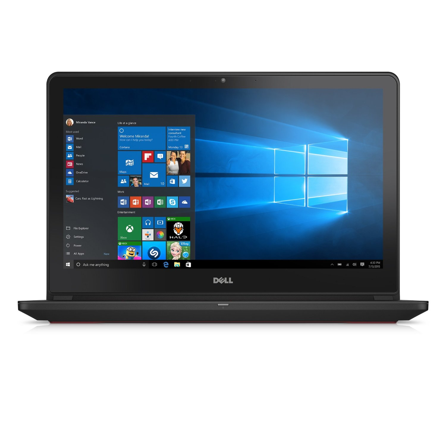 Dell Inspiron i7559-7512GRY 15.6 Inch UHD Touchscreen Laptop (6th Generation Intel Core i7, 16 GB RAM, 1 TB HDD + 128 GB SSD) NVIDIA GeForce GTX 960M