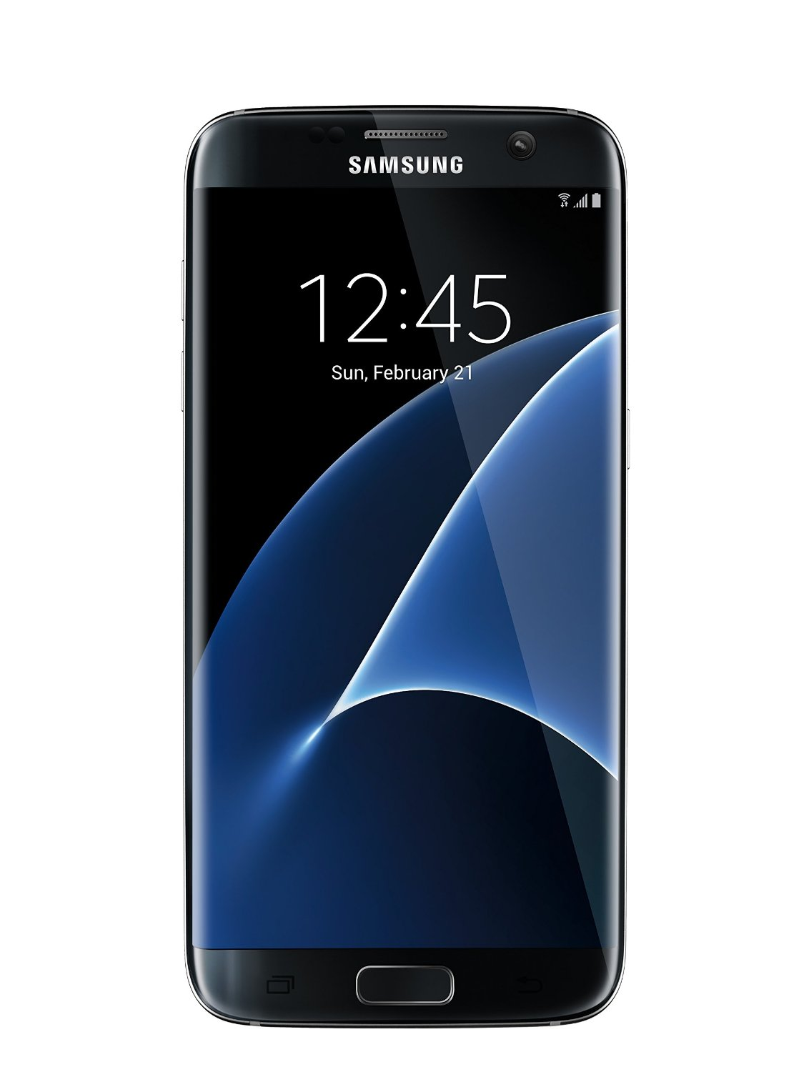 Samsung Galaxy S7 Edge G935F Unlocked Phone - Retail Packaging - Black Oynx (International Version)